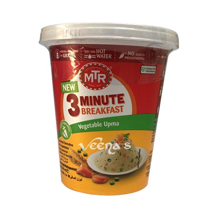 MTR 3 Minute Breakfast Vegetable Upma 80g