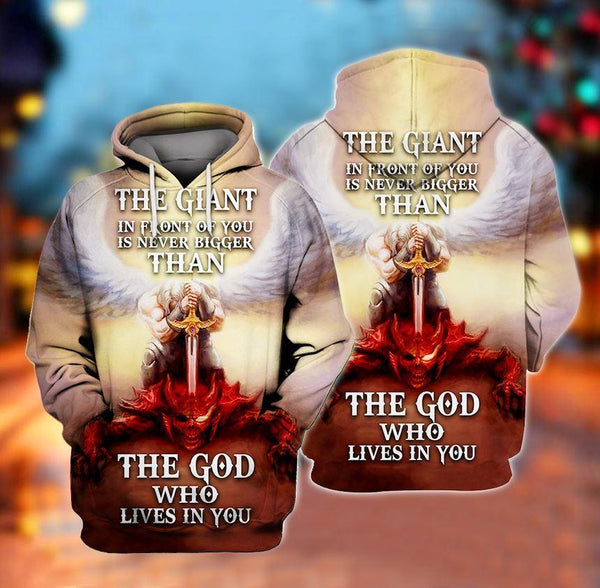 The GOD who lives in you Knight Templar 3D Full Printing