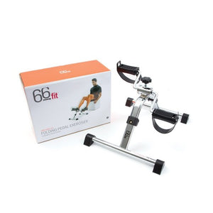 66fit Folding Pedal Exerciser