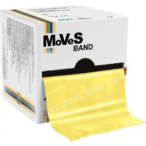 Moves band latex exercise band Yellow 50 yards roll
