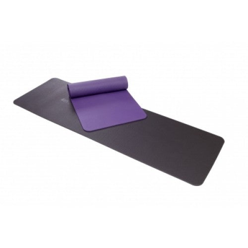 Airex Pilates exercise mat Purple and charcoal colors