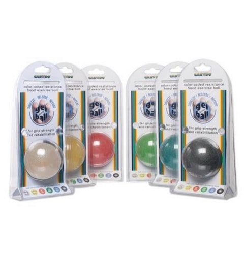 Cando gel hand exercise ball all resistances