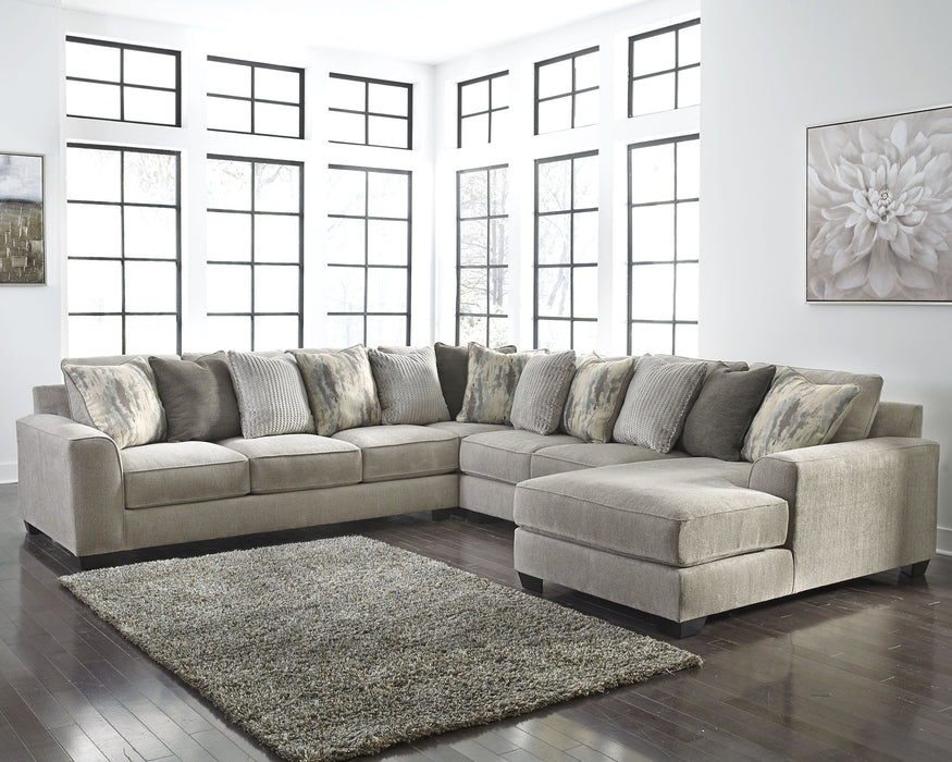 Ardsley Benchcraft 4-Piece Sectional with Chaise image