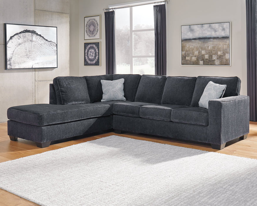 Altari Signature Design by Ashley 2-Piece Sectional with Chaise image