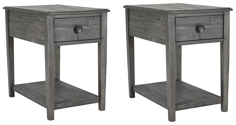 Borlofield Signature Design 2-Piece End Table Set image