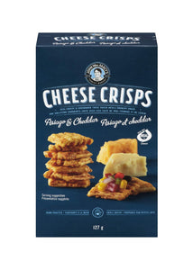 Asiago and Cheddar Cheese Crisps