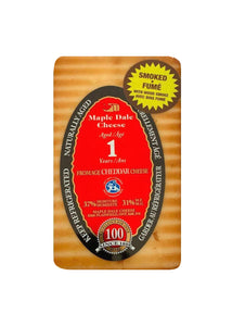 Smoked Cheddar Cheese Aged 1 Year - Maple Dale