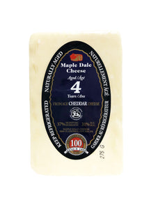 Cheddar Cheese Aged 4 Years - Maple Dale