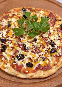 Mexican Salami Pizza