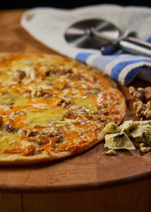 Roasted Pear, Stilton & Walnut Pizza