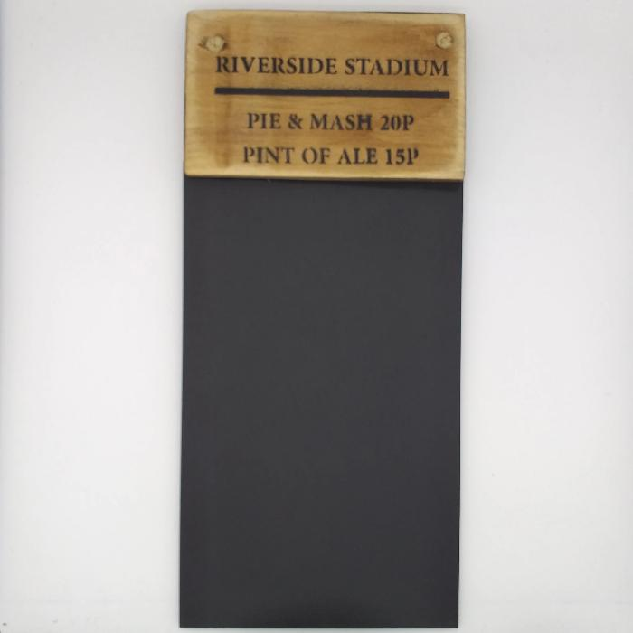 Middlesbrough 'Riverside Stadium' Blackboard