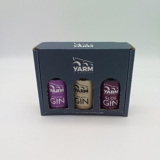 Yarm Gin Triple Selection Pack 5cl