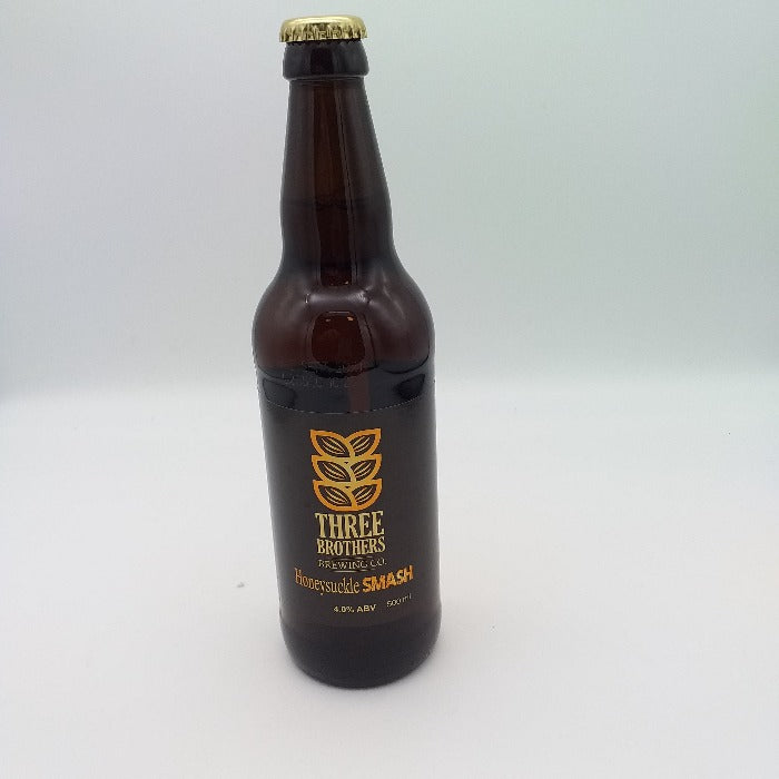 Three Brothers Honeysuckle Smash Beer 500ml