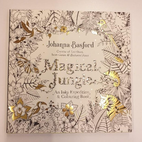 Magical Jungle Colouring Book