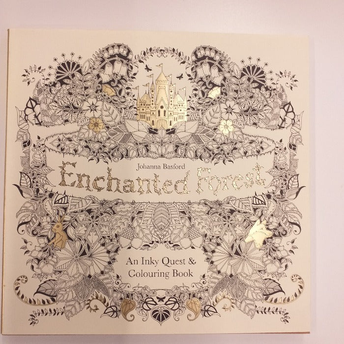 Enchanted Forest Adult Colouring Book