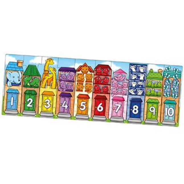 Number Street - Orchard Toys