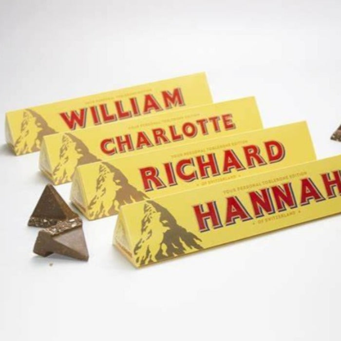 Personalised Toblerone (Occasions and Relations)