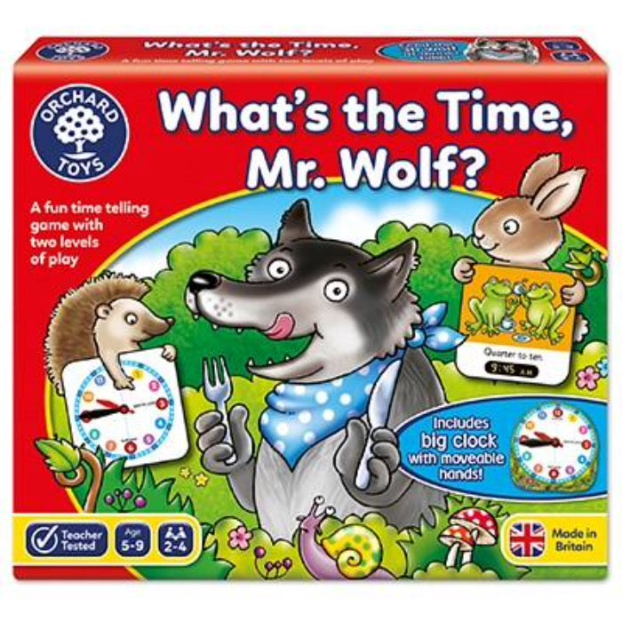 What time is it Mr Wolf? - Orchard Toys