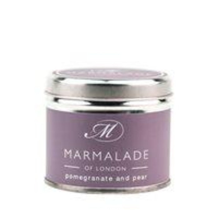Marmalade Pomegranate & Pear Medium Tin Candle