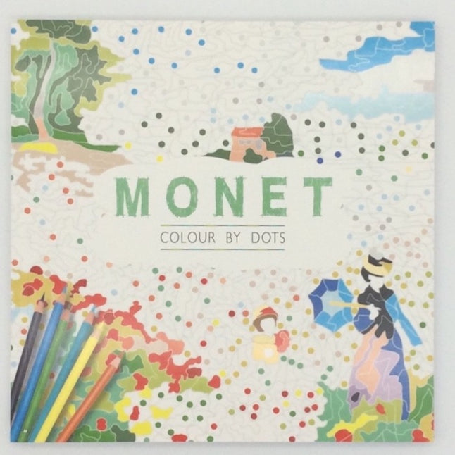 Monet colour by dots