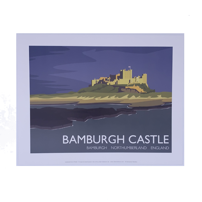 North East stately homes and castle Prints