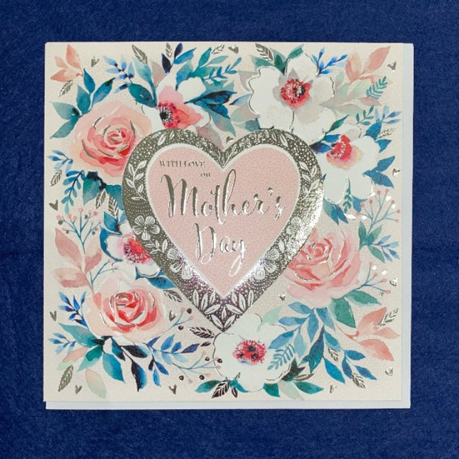 With love on Mother's day- card