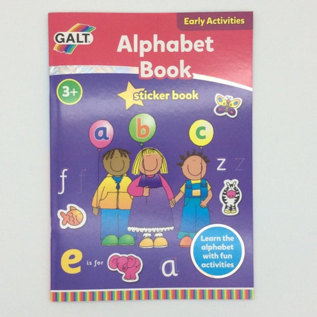 Galt Alphabet Sticker Book