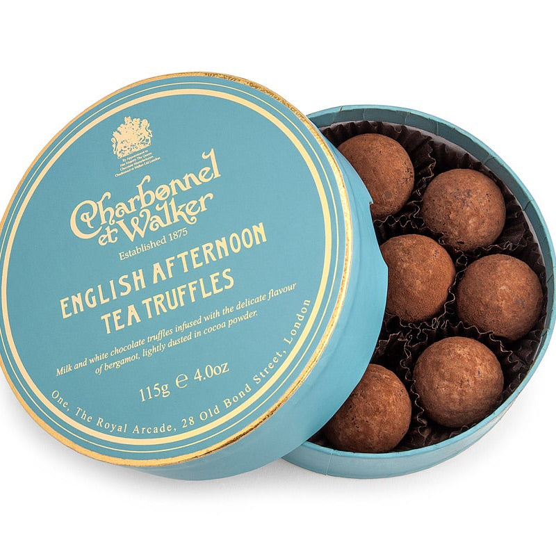 Charbornnel et Walker English afternoon tea Truffles