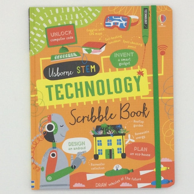 Usborne Tecnology Scribble book