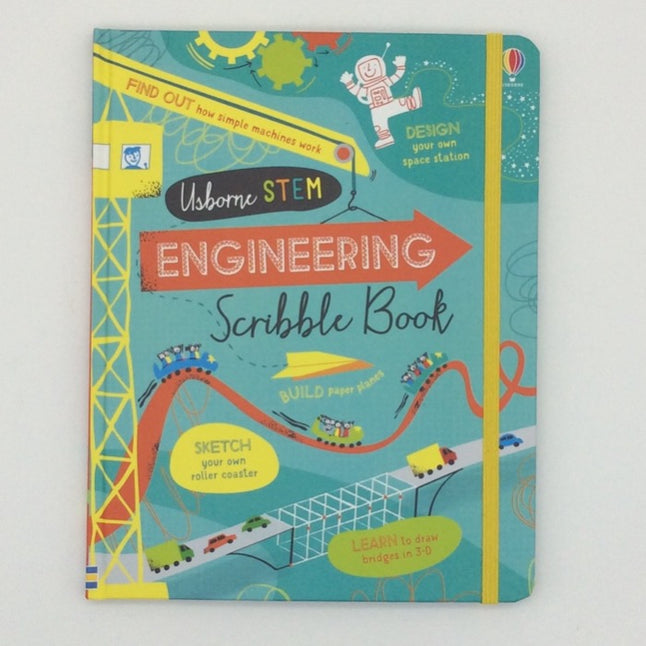 Usborne Engineering Scribble book