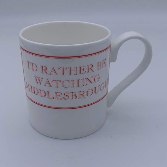'I'd rather be watching Middlesbrough' mug
