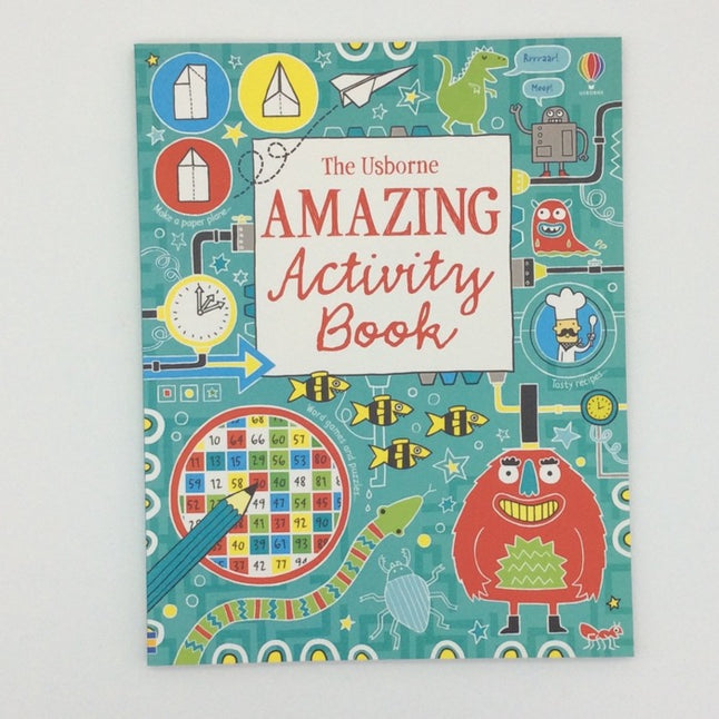 Usborne Amazing activity book