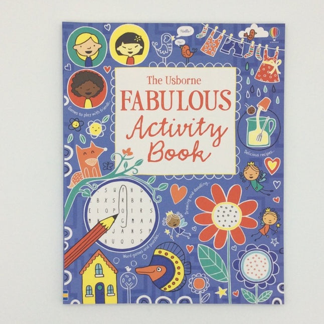 Usborne Fabulous activity book