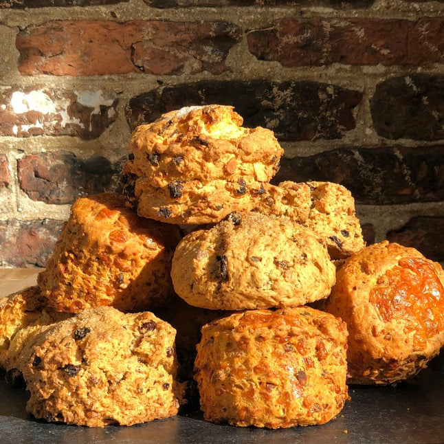 Home made Strickies scones - AVAILABLE SATURDAY FOR CLICK & COLLECT
