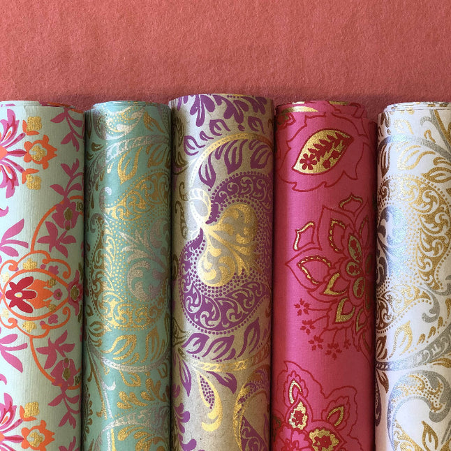 Handmade Recycled Luxury Wrapping Paper