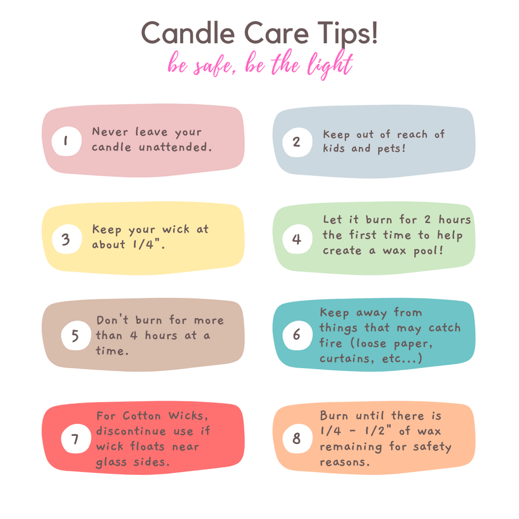 Candle Care Tips