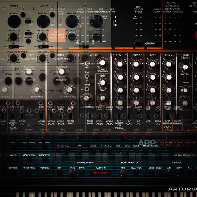 Top 10 Vintage Analogue Software Synthesizers