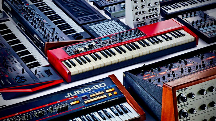 What are the different types of synthesizers?