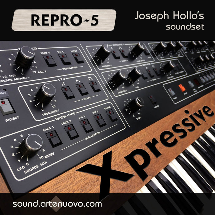 A stunning Repro-5 sound pack | Xpressive - 68 Repro-5 Presets
