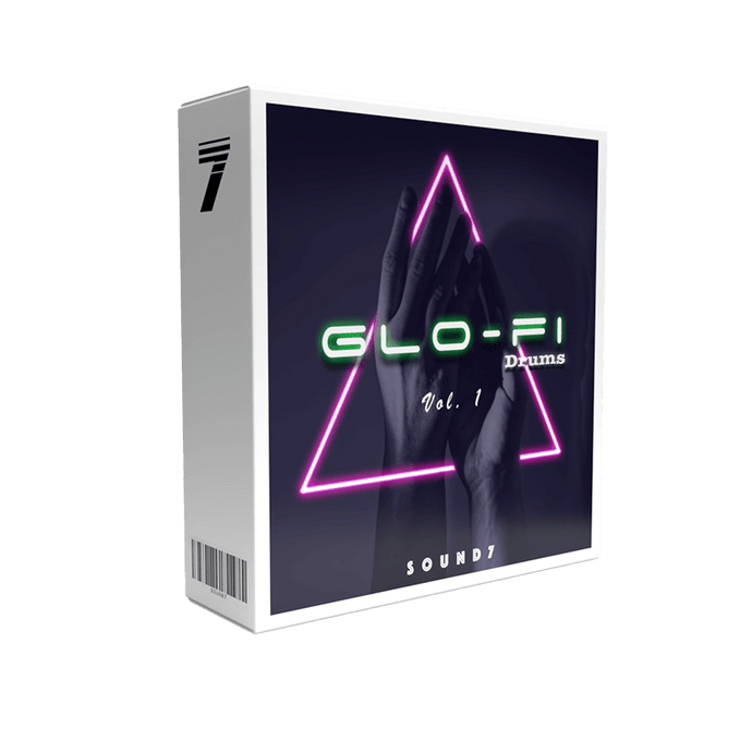 Glo-Fi Drums - x200 Glo-fi & Chillwave Drum Loops