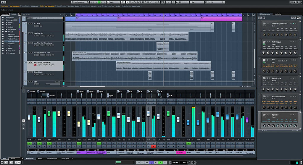 Cubase use for EDM and trance