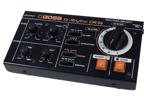 Boss DR-55 Used in Techno Music