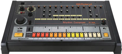 Roland TR808 Used in Techno Music