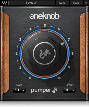 waves one knob pumper for trance