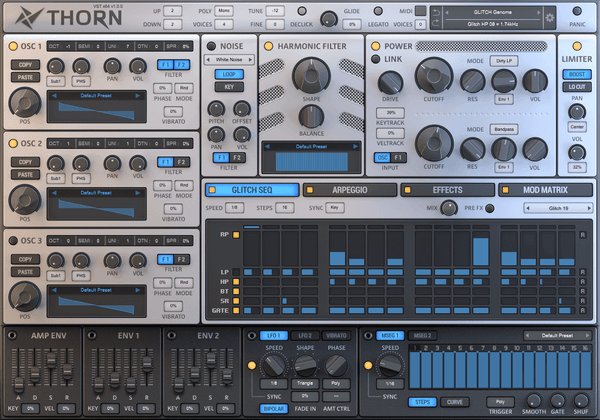 thorn a good synth for trance