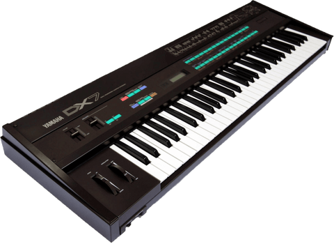 Yamaha DX7 Used in Techno Music