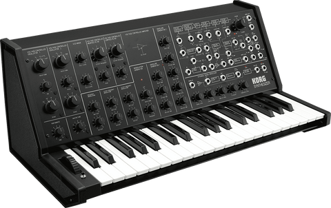 Korg MS-20 Used in Techno Music