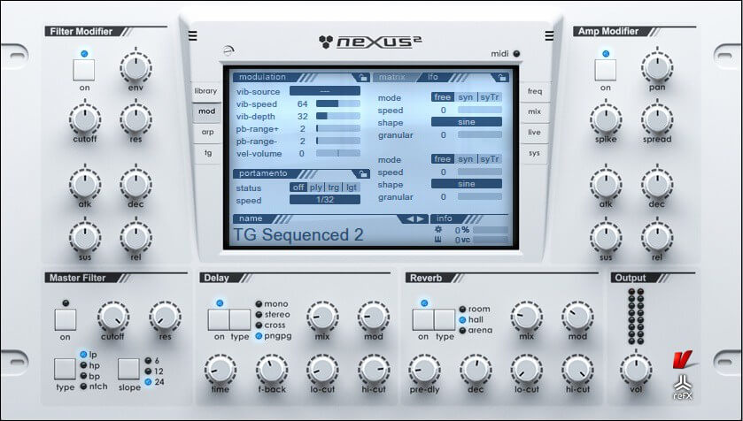 nexus 2 a good synth for trance