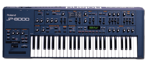 Roland JP-8000 Synthesizer and Preset Packs