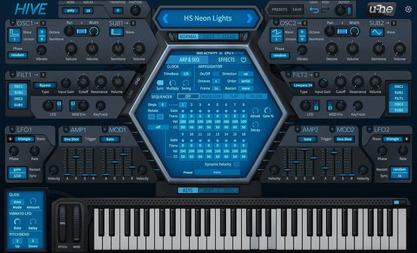 Hive a good synth for trance